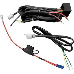 40 off road atvjeep led light bar wiring harness relay on amazon.com: kuryakyn 7672 plug & play trailer wiring/relay ... hd trailer wiring harness relay #8