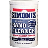 Simoniz CS0100rt4 RT Original Waterless Hand Cleaner, 4.5 Lb Tubs Per Case (Pack Of 4)