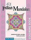 42 Indian Mandalas Coloring Book