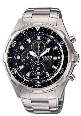 Casio Men's Stainless Diver Watch