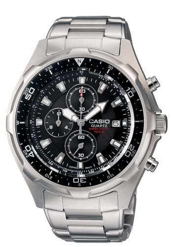 Casio Men's AMW330D-1AV Dive Chronograph Stainless