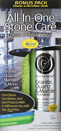 Supreme Surface Granite & Quartz, Cleaner, Polish and Sealer with ioSeal Protectants (Supreme Top Form compare prices)