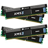 Corsair XMS3 16GB (4x4GB)  DDR3 1600 MHz (PC3 12800) Desktop Memory