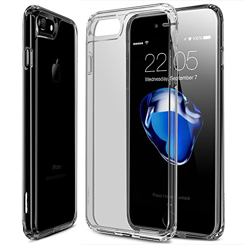 the latest b1eeb 43b78 Best 11 Crystal Cases for Jet Black iPhone 7 and 7 Plus - eReader Palace