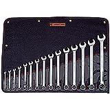 Wright Tool #Wrightgrip 915 15-Piece Full Polish Combination Wrench Set