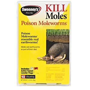 Sweeney's S6009 Poison for Mole Worms (not available in NC, NY)