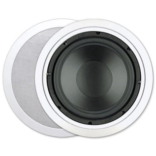 Presence 10 In. In-Ceiling Subwoofer, 150W