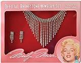 California Costume Women's Marilyn Jewelry Set, Silver, One Size