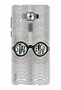 Noise Designer Printed Case / Cover for Asus Zenfone 3 Deluxe ZS570KL with 5.7 Inch screen size/ Nature / Elephant Design