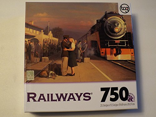 Railways I Will Hold You in My Dreams 750 Piece Puzzle Sure-lox