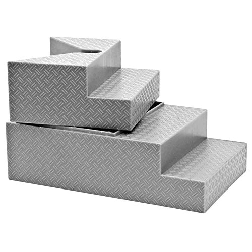 Deluxe Gray Breakable Ring Stairs For Wrestling Action Figures (Figure Rings compare prices)