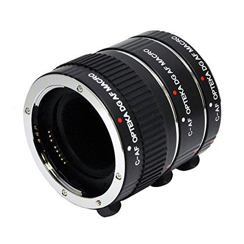 Opteka Auto Focus DG EX Macro Extension Tube Set for Canon E