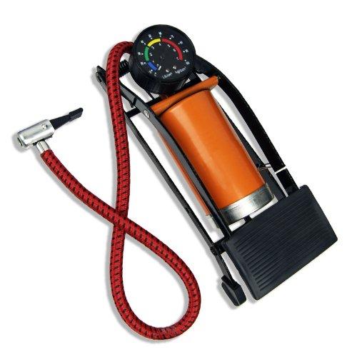 100 PSI Foot-Powered Air Pump with Pressure Gauge