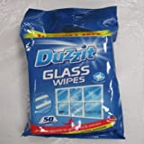 Duzzit Glass Wipes 50 PACK