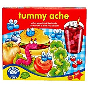 Orchard Toys Tummy Ache - Juego familiar sobre alimentación