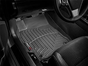 WeatherTech Custom Fit Front FloorLiner for Honda Fit (Black)