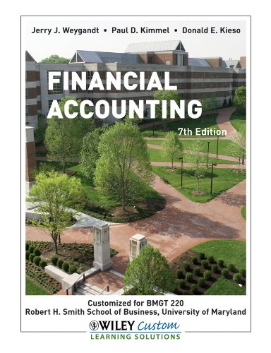 Financial Accounting 7th Edition Textbook Solutions