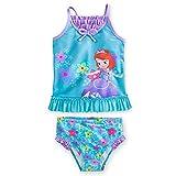 Disney - Sofia Tankini Swimsuit for Girls - 2-piece - Size 7/8 - New