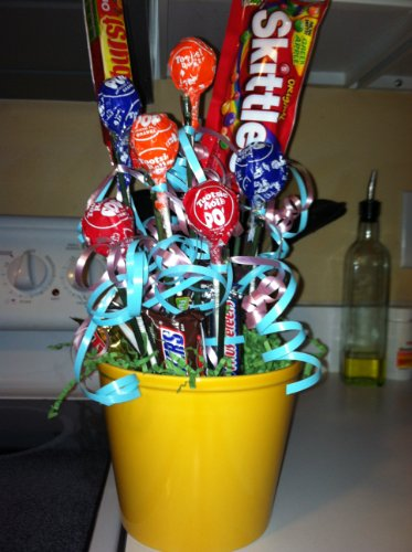 Adorable Candy Bouquet - Great for Easter - Available