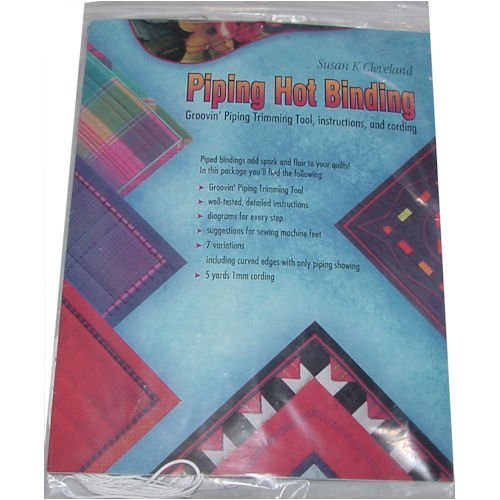 Best Buy! Groovin' Piping Hot Binding Piping Trimming Tool with Instructions and Cording