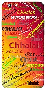 Chhalak (Spill) Name & Sign Printed All over customize & Personalized!! Protective back cover for your Smart Phone : Samsung Galaxy A-7
