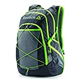 Reebok Hyperion Backpack w/ Port For Water Bladder - Black w/ Neon Green Trim