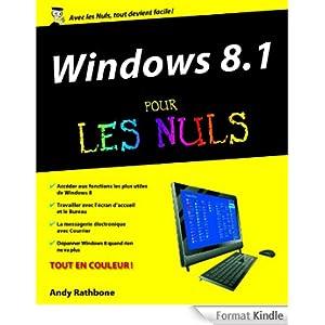Windows 8.1 Pour les Nuls eBook: Andy RATHBONE: Boutique