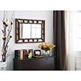 Bamboo Wall Mirror | 40 Inch Height, 26 Inch Width
