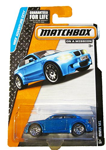 Matchbox - MBX Adventure City 71/120 - BMW M1 (blue) by Mattel