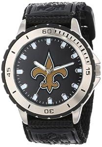 Game Time Men's NFL-VET-NO Veteran Custom New Orleans Saints Veteran Series Watch