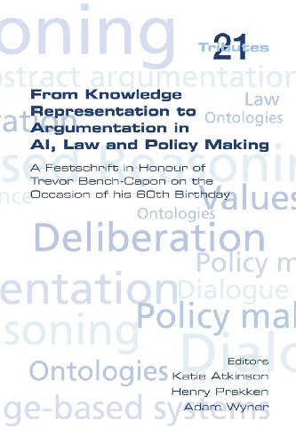 From Knowledge Representation to Argumentation in AI, Law and Policy Making. a Festscrift in Honour of Trevor Bench-Capo