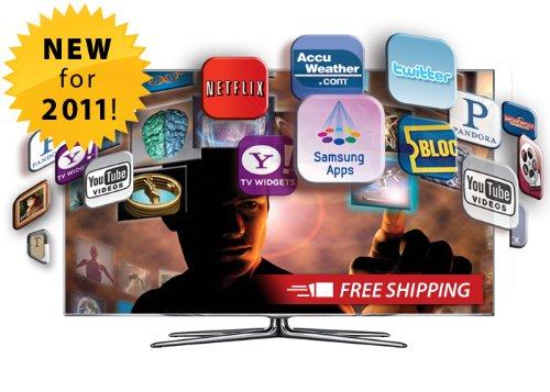 lcd tv:Samsung UN55D8000 55-Inch 1080p 240Hz 3D LED HDTV (Silver) Images