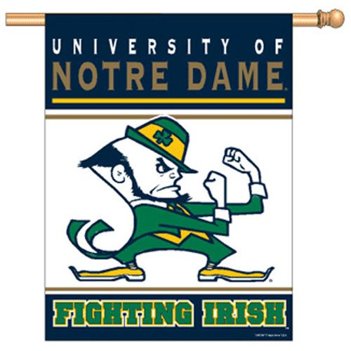 NCAA Notre Dame Fighting Irish 27-by-37 inch Vertical Flag