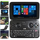 GPD Win 5.5 Inch Gamepad Tablet PC Intel Atom X7 Z8750 Windows 10 OS 4GB/64GB Game Console Quad Core 2.56GHz Gorilla Glass Touch Screen 1280*720 Type-C - Black