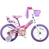 Titan Girls Flower Princess BMX Bike, Pink, 16-Inch