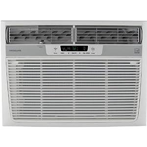 Frigidaire Energy Star 18,500 BTU 230V Window-Mounted Median Air Conditioner w/ Temperature Sensing Remote Control, FFRE1833Q2