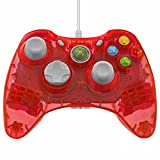 Control PDP Rock Candy  de cable para Xbox 360, color cereza.