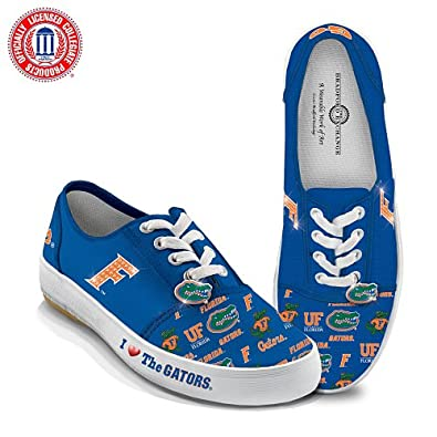 Officially-Licensed University of Florida Gators Women's Canvas Sneakers