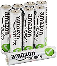 AmazonBasics AAA Performance Alkaline Batteries [Pack of 8]