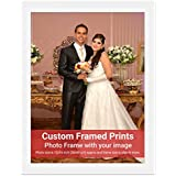 Averprint Photo Frame Personalized Picture Frame With Custom Photo / Your Image Print 12x16 Inch (30x40 Cm Framed)