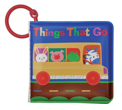 "Smarty Kids Vinyl ""Things That Go"" Book"