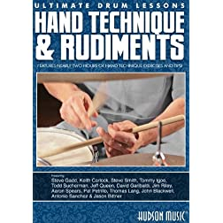Ultimate Drum Lessons: Hand Technique & Rudiments