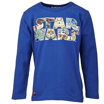 Lego wear - star wars - t-shirt - garçon - bleu (kobolt blue) - 4 ans