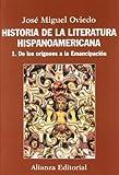Historia de la literatura hispanoamericana