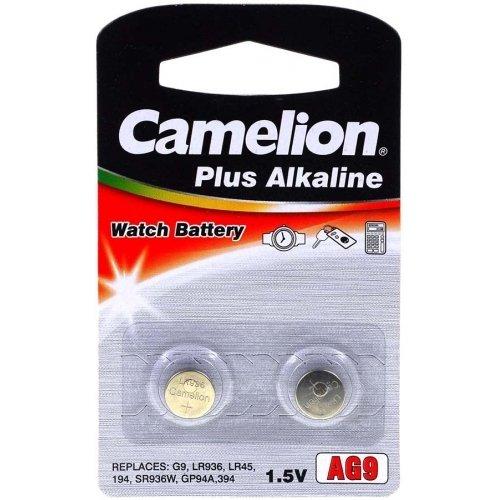 Pile-bouton Camelion LR45 (2 unités sous blister)