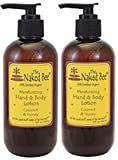 Naked Bee Coconut Honey Hand And Body Lotion 8 Oz (Pack Of 2)