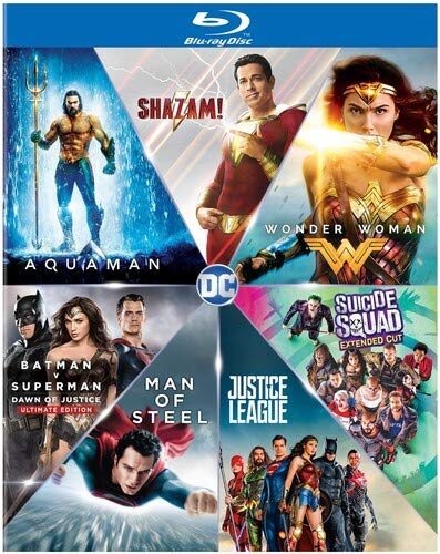 Blu-ray : Dc 7 Film Collection (9 Discos)