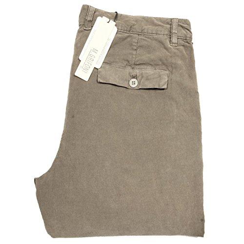 66977 pantaloni velluto MAURO GRIFONI jeans uomo trousers men verde [52]
