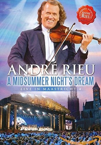 DVD : André Rieu - Midsummer Night's Dream-live In Maastricht 4 (Germany - Import, Pal Region 0)
