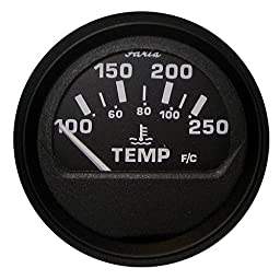 Faria 12812 Euro Water Temperature Gauge